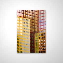 Magnetic 20 x 30 - 3D - Skyscrapers