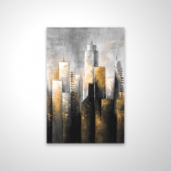Magnetic 20 x 30 - 3D - Abstract skyline