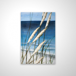 Magnetic 20 x 30 - 3D - Wild herbs in the wind on at the beach