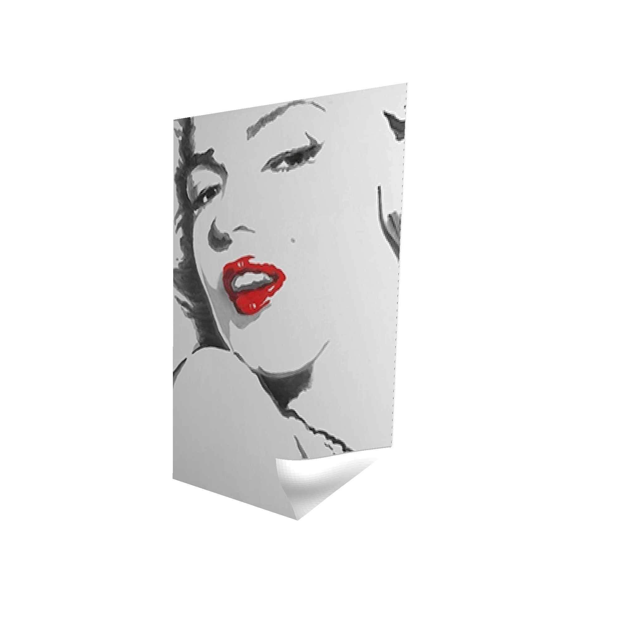 Marilyn monroe outline style