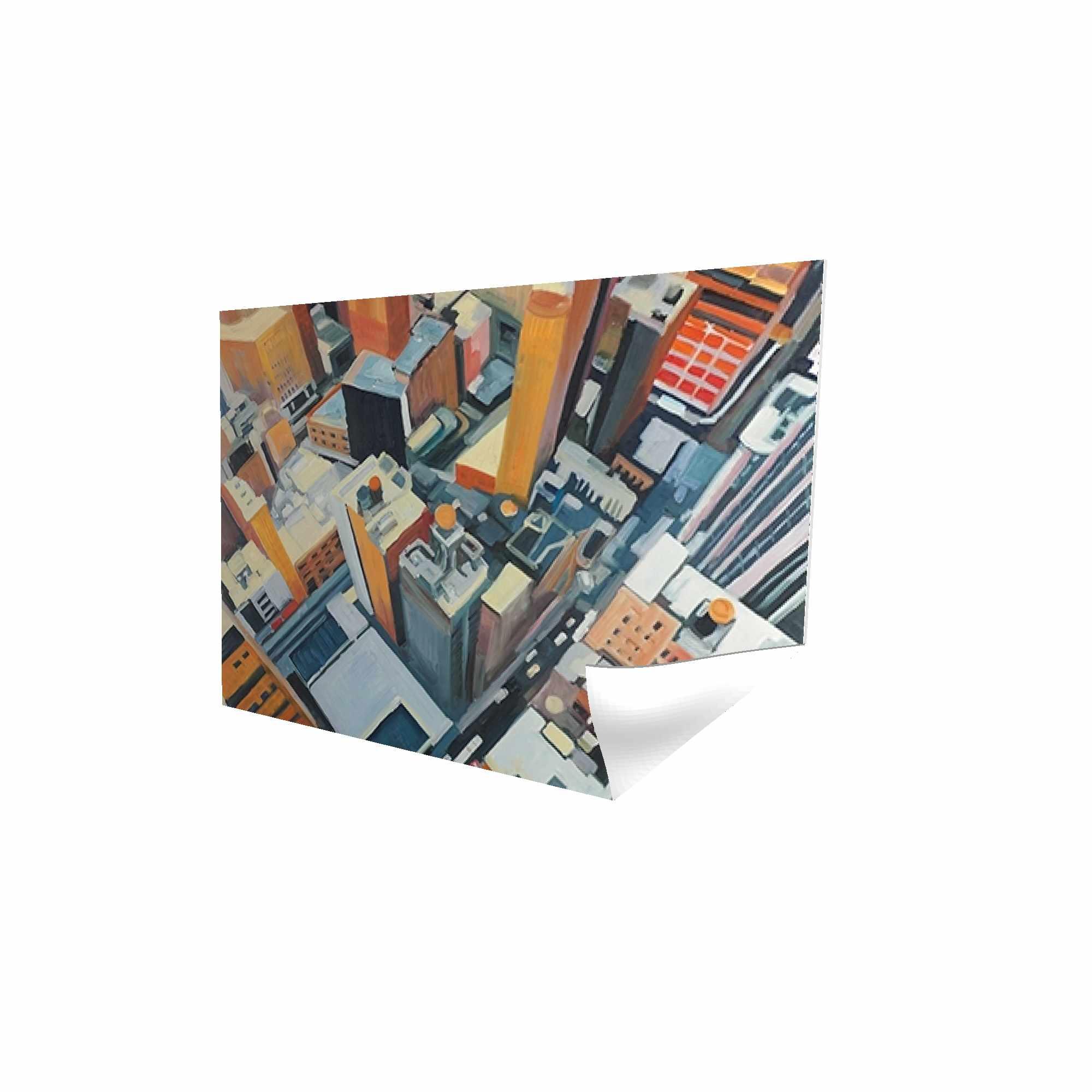 Vue de dessus des bâtiments à new york
