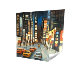 Poster 16 x 16 - 3D - View on times square