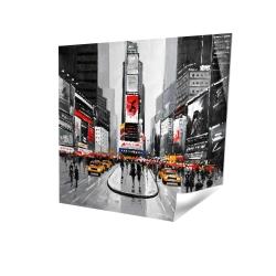 Rue achalandée de la ville de new york