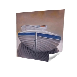 Poster 16 x 16 - 3D - Two canoe boats