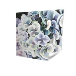 Poster 16 x 16 - 3D - Purple hydrangea flowers