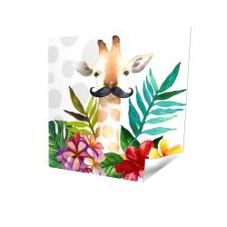 Poster 16 x 16 - 3D - Exotic giraffe