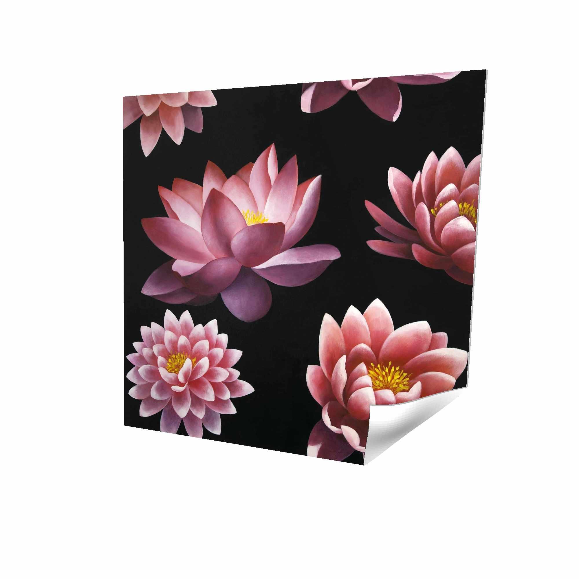 Motif de fleur de lotus