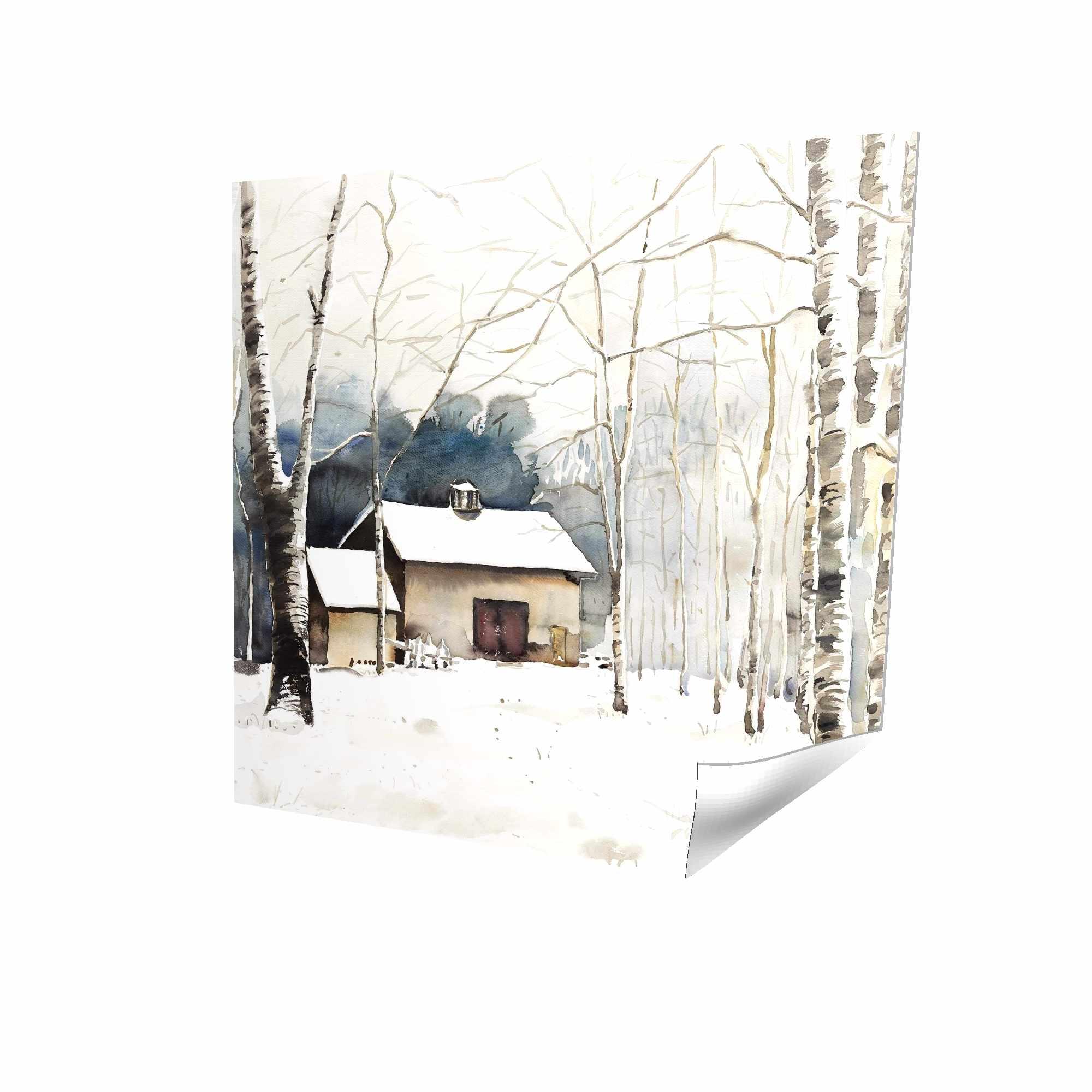 Petite grange d'hiver