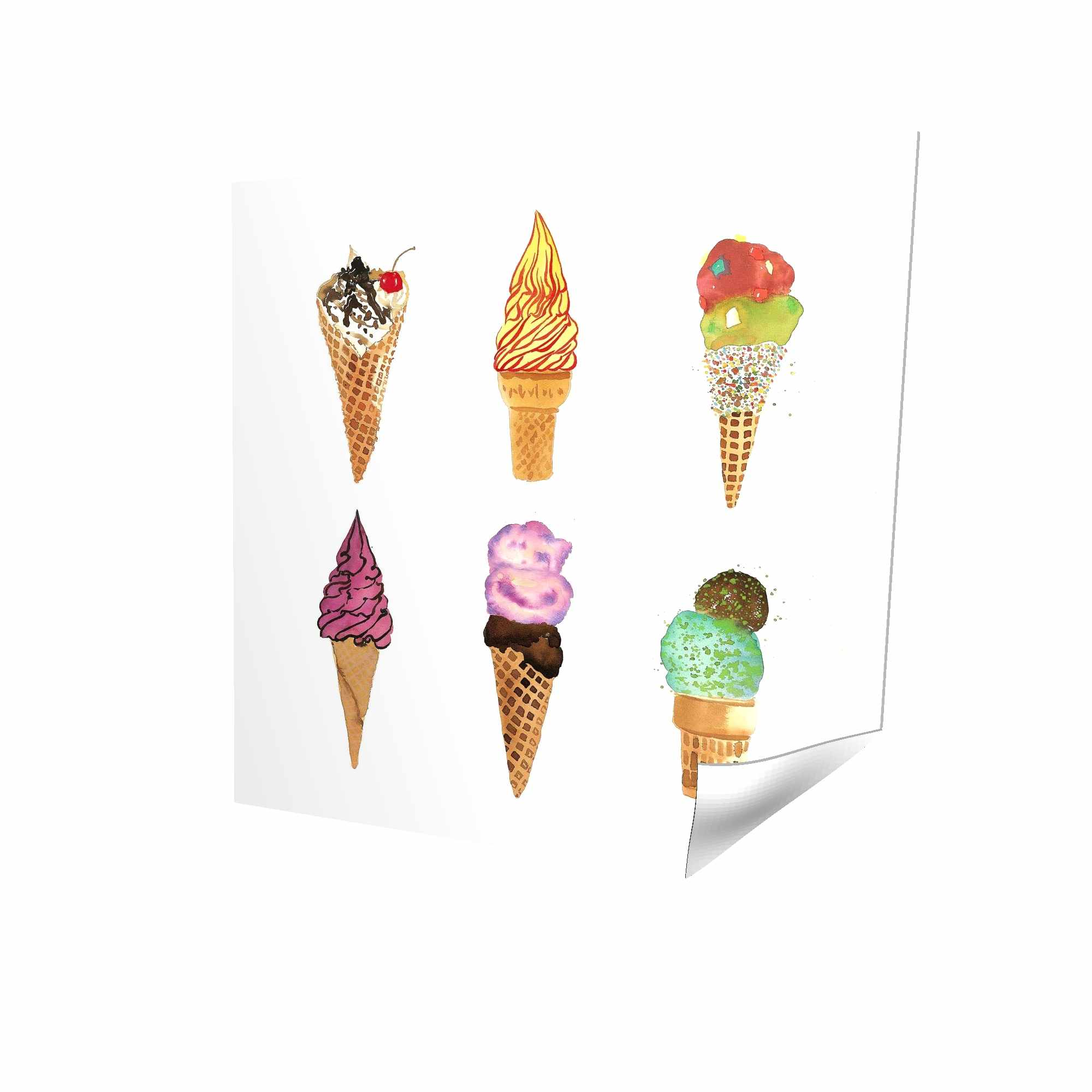 Ice cream cones