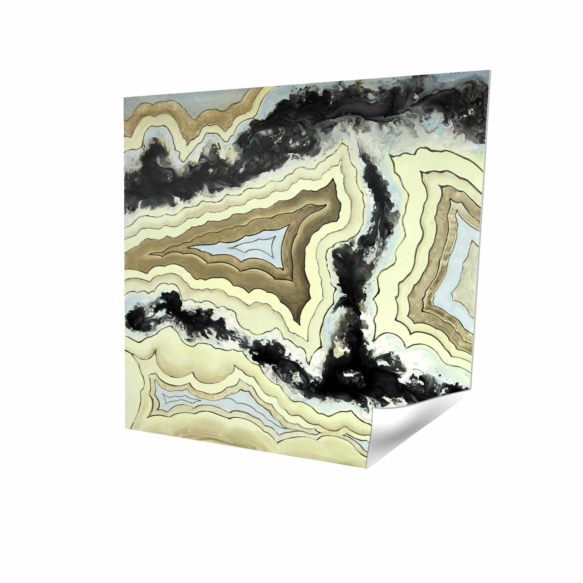 Poster 16 x 16 - 3D - Lace agate