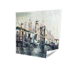 Pont abstrait et texturé