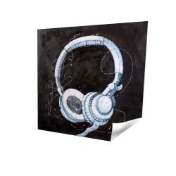 Affiche 16 x 16 - 3D - écouteur