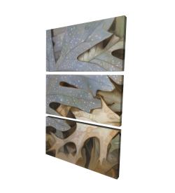 Canvas 24 x 36 - 3D - Autumn leaves