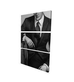 Canvas 24 x 36 - 3D - Businessman