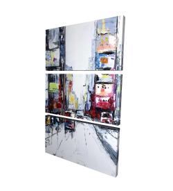 Canvas 24 x 36 - 3D - Time square