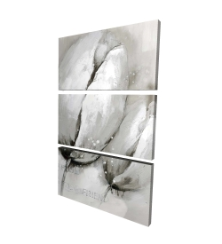 Canvas 40 x 60 - 3D - Contemporary tulips