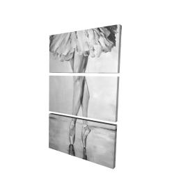 Canvas 24 x 36 - 3D - Ballet classic steps