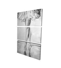 Canvas 24 x 36 - 3D - Ballet classic steps