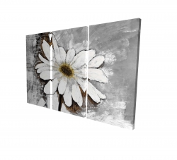 Canvas 24 x 36 - 3D - Abstract daisy