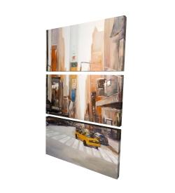 Canvas 24 x 36 - 3D - New-york city center