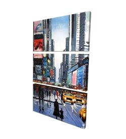 Canvas 24 x 36 - 3D - Peak hour