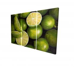 Canvas 24 x 36 - 3D - Basket of limes
