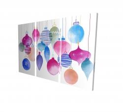 Canvas 24 x 36 - 3D - Magic holidays