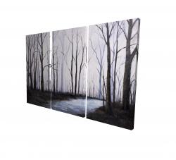 Canvas 24 x 36 - 3D - Sad forest