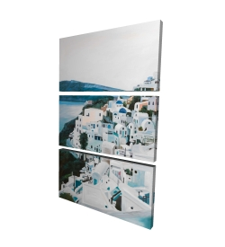 Canvas 24 x 36 - 3D - Travel in greece
