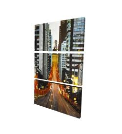 Canvas 24 x 36 - 3D - San francisco by night