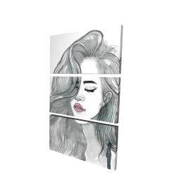 Belle chevelure féminine