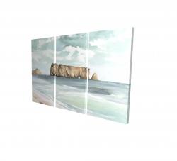 Canvas 24 x 36 - 3D - Rocher percé