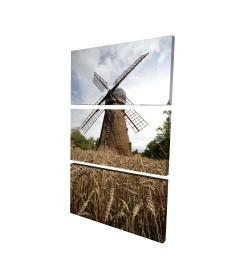 Canvas 24 x 36 - 3D - Windmill