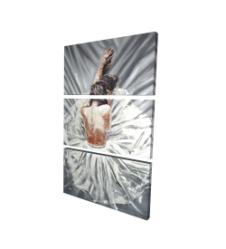 Canvas 24 x 36 - 3D - Ballerina