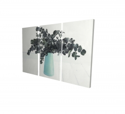 Canvas 24 x 36 - 3D - Bouquet of eucalyptus