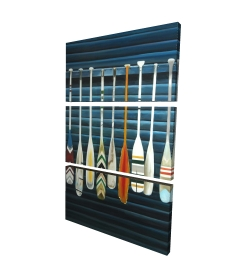 Canvas 40 x 60 - 3D - Paddles