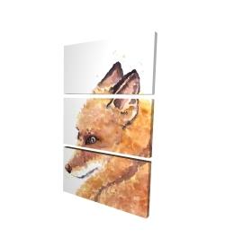 Canvas 24 x 36 - 3D - Fox