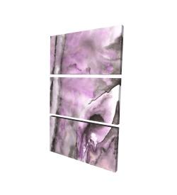 Canvas 24 x 36 - 3D - Purple