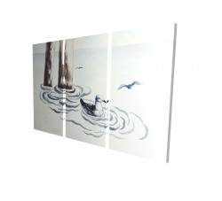 Canvas 24 x 36 - 3D - Seagull
