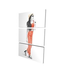 Canvas 24 x 36 - 3D - Strike the pose