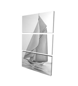 Canvas 24 x 36 - 3D - Vintage sailing ship