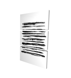 Toile 24 x 36 - 3D - Hachure