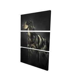 Canvas 24 x 36 - 3D - Picard spaniel