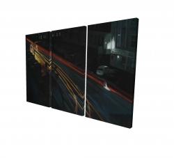 Canvas 24 x 36 - 3D - Downtown