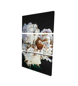 Canvas 24 x 36 - 3D - Bouquet of spring flowers