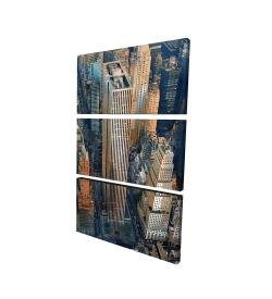 Canvas 24 x 36 - 3D - General motors building