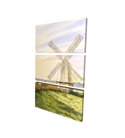 Canvas 24 x 36 - 3D - Morning breeze