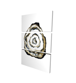 Canvas 24 x 36 - 3D - Golden agate