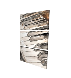 Canvas 24 x 36 - 3D - Piano