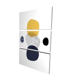Canvas 24 x 36 - 3D - Spheres